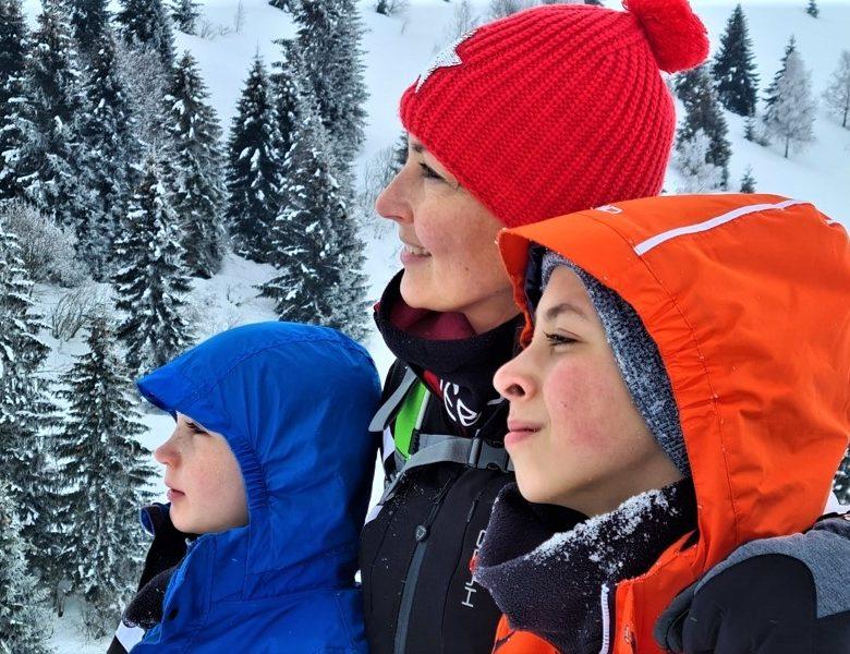 Val Seriana: escursione sulla neve con i bambini
